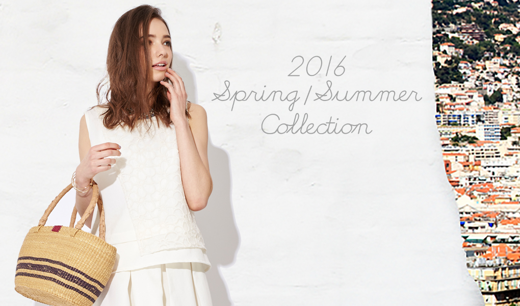 2016 spring&summer collection